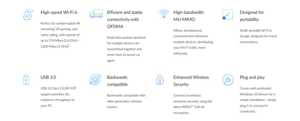 D-Link Wi-Fi 6 DWA-X1850