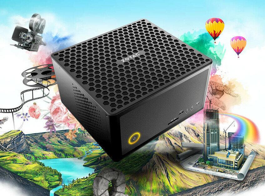 Zotac dévoile une GTX 1650 low profile, le VR Go 3.0, ses mini PC Edge et renforce ses Zbox Quadro
