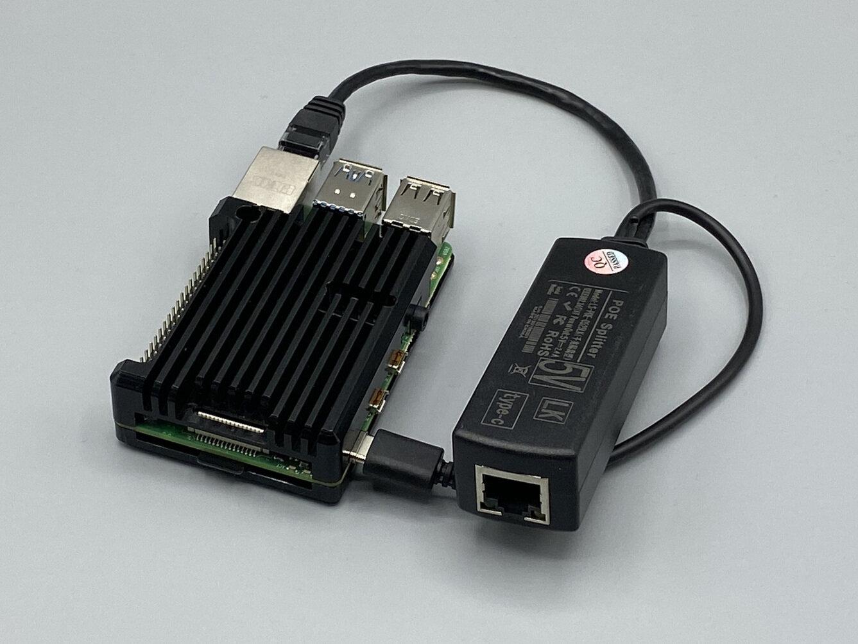 Peut-on utiliser un splitter PoE USB Type-C pour alimenter un Raspberry Pi 4 ?