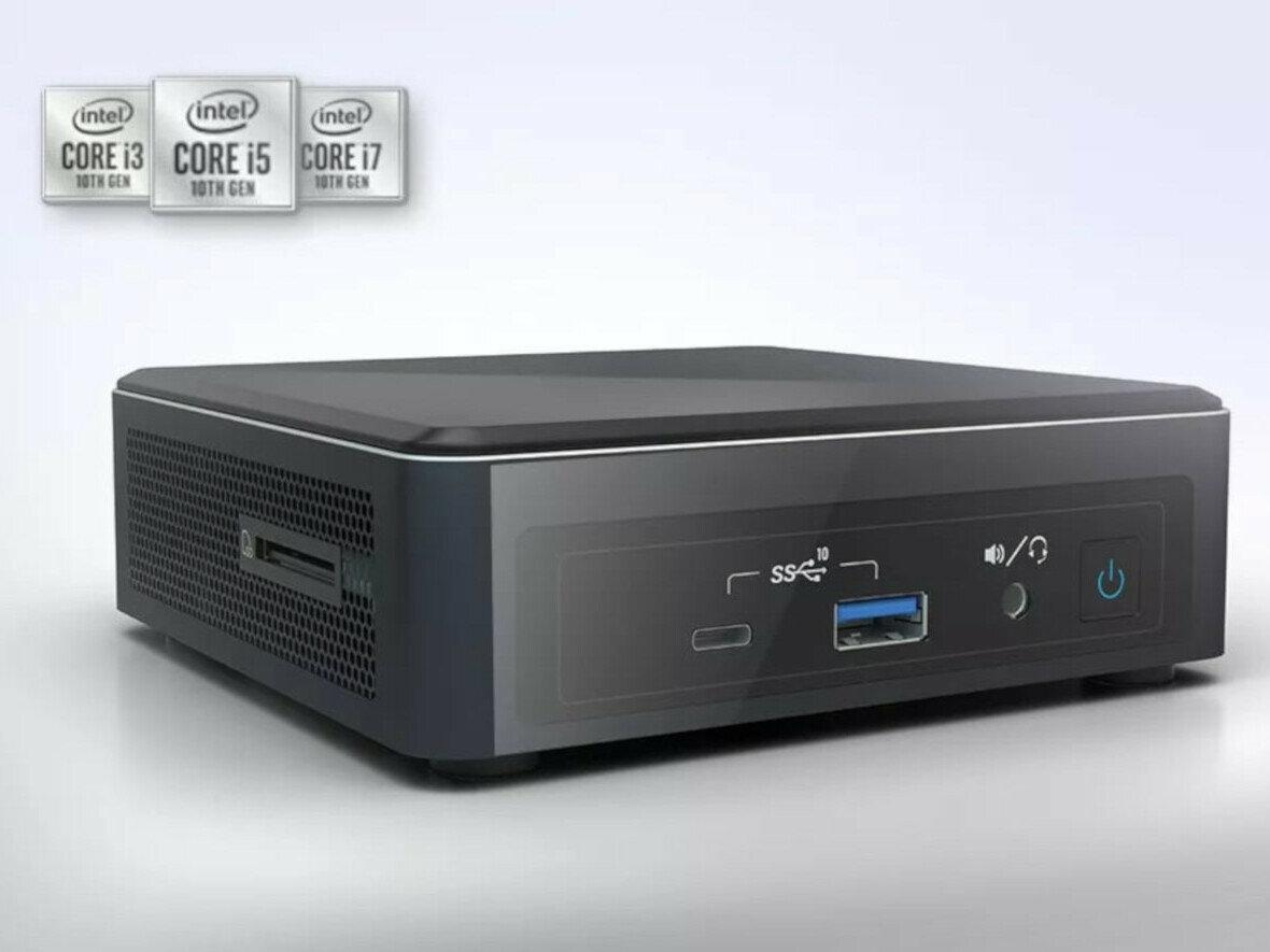 Les NUC Frost Canyon à base de processeurs Core de 10e génération officialisés par Intel