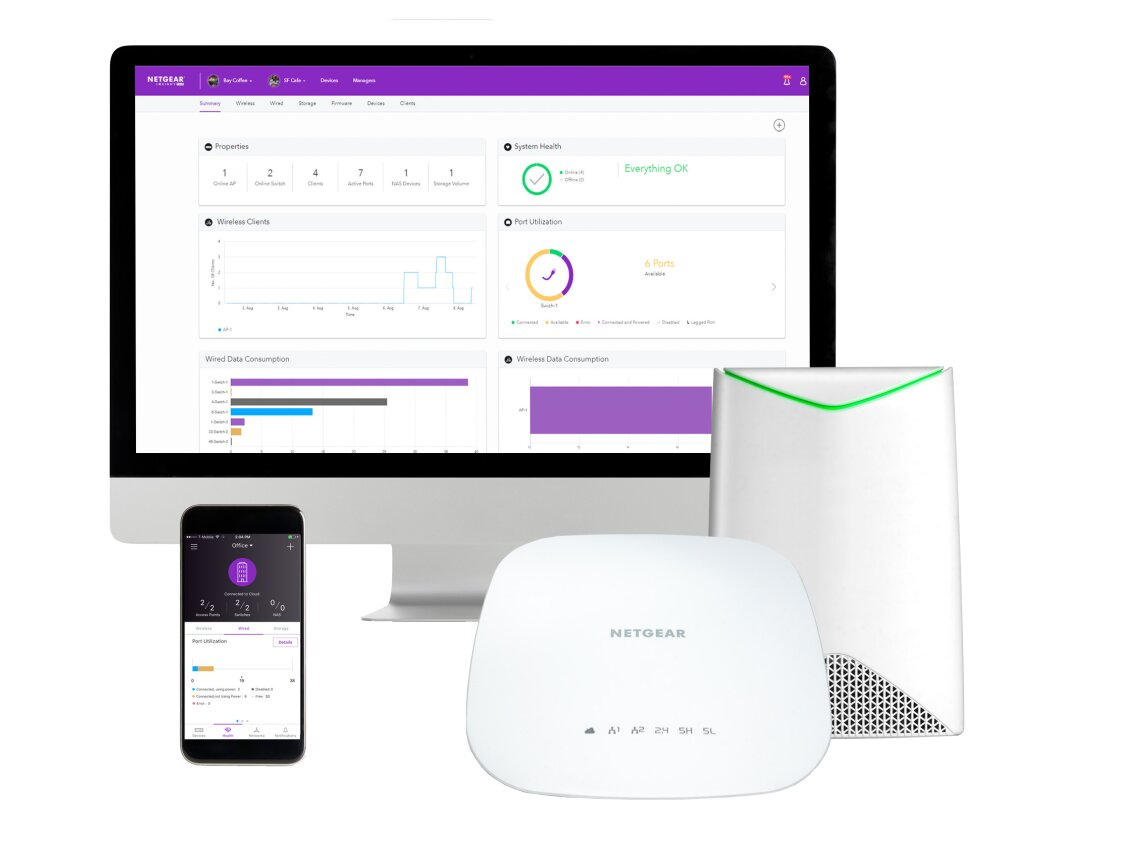 Netgear Insight : passez au Software Defined Network (SDN) « dans le cloud »