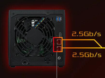 Nimbustor 4 (AS5304T) d'Asustor : quelles performances pour ce NAS 2x 2,5 Gb/s ?