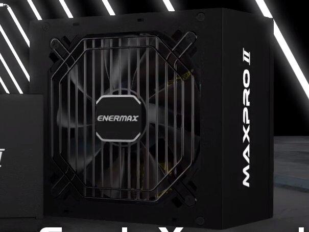 Enermax MaxPro II : alimentations 80Plus de 400 à 700 watts avec des câbles plats, de 40 à 60 euros