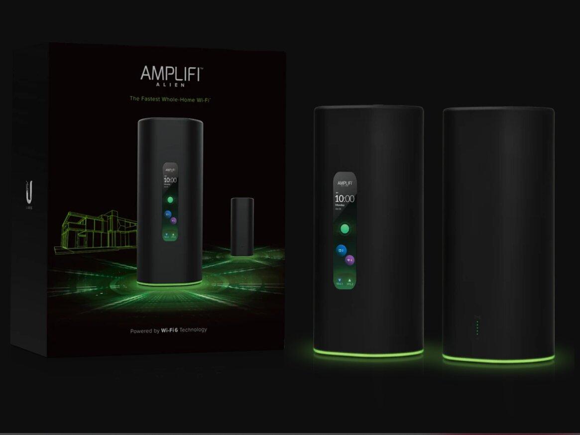 Routeur « Mesh » Alien Wi-Fi 6 : Ubiquiti propose un pack avec satellite... à 700 dollars