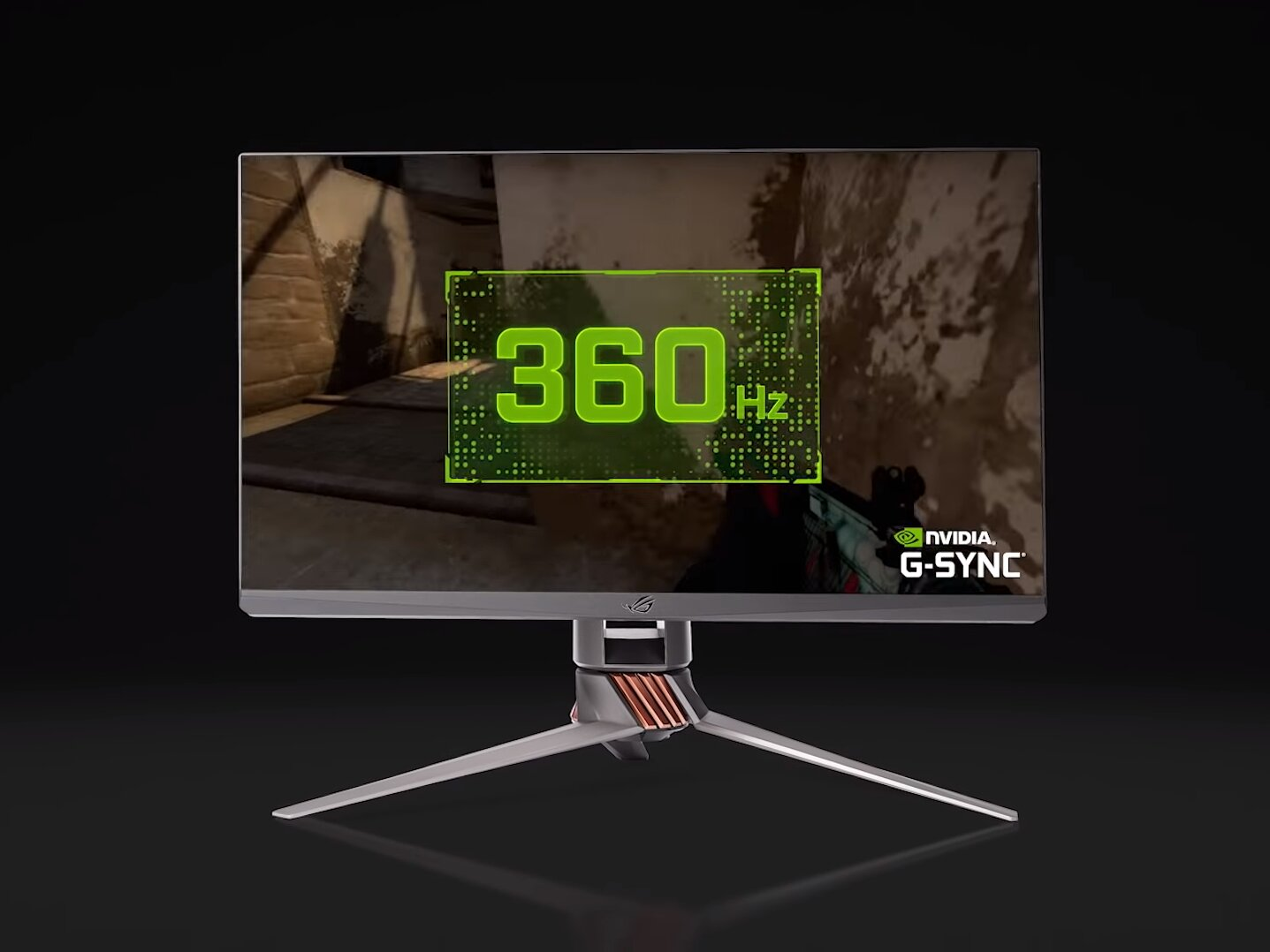 NVIDIA : écran G-Sync à 360 Hz, bundle Adobe Creative Cloud et DLSS/RTX pour Youngblood