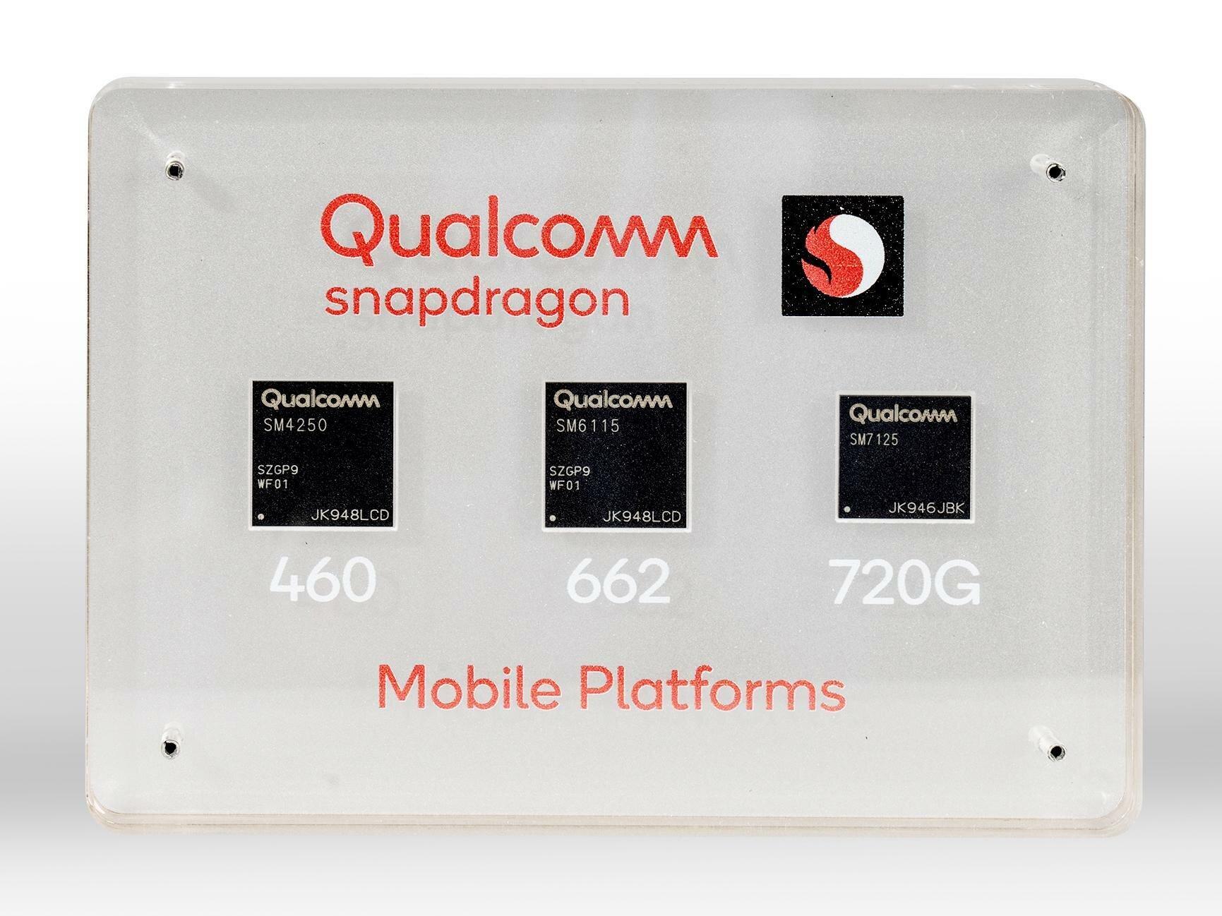 Snapdragon 720G, 662 et 460 : Qualcomm annonce trois SoC avec du Wi-Fi 6