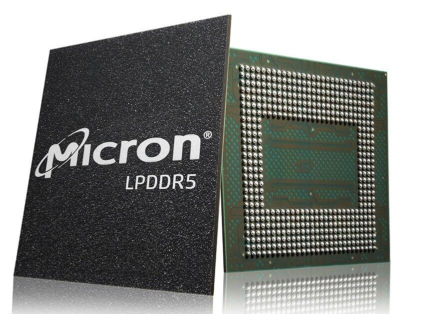Micron expédie ses puces de LPDDR5, qui équiperont le smartphone Xiaomi Mi 10