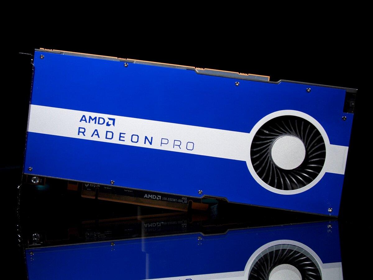 AMD montre les dents sur le marché professionnel et annonce sa Radeon Pro W5500 à 400 dollars