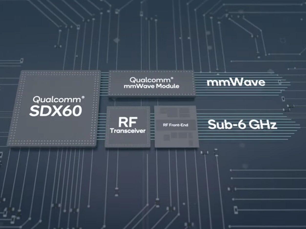 Qualcomm Snapdragon X60 : nouveau modem 5G en 5 nm, qui serait produit par TSMC et Samsung