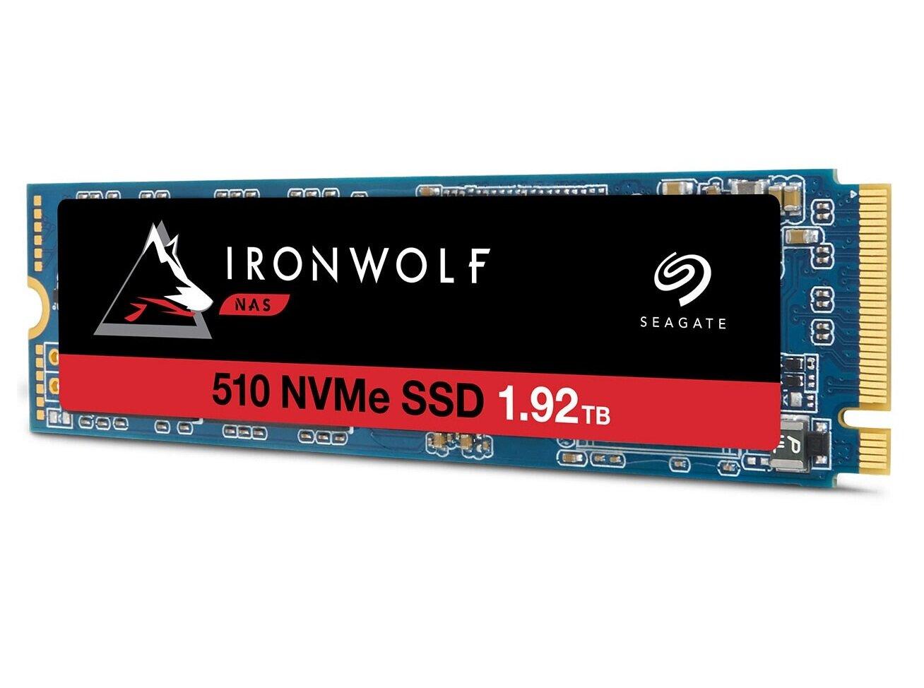 Seagate lance le « premier SSD PCIe pour NAS au monde », Synology serait en embuscade