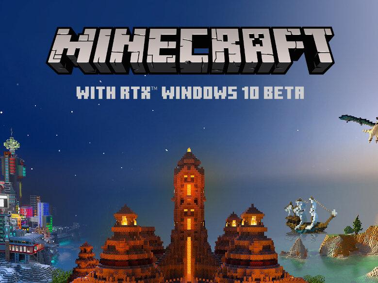 Minecraft avec RTX sera disponible en bêta le 16 avril, avec DLSS 2.0