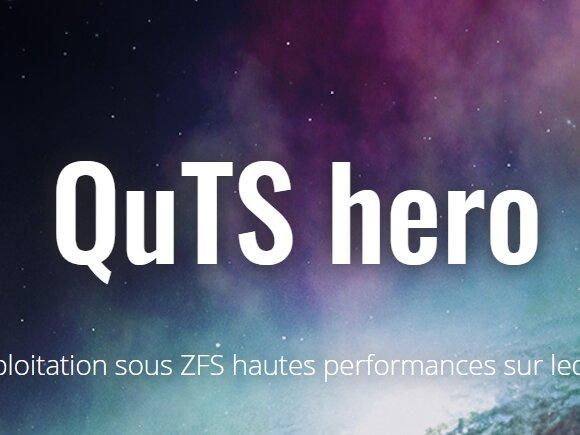 QNAP s'organise autour de ZFS avec QuTS hero et met en ligne QTS 4.4.2