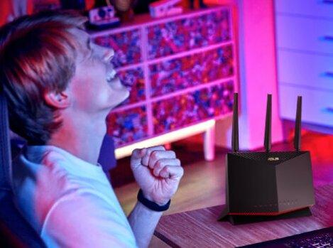 RT-AX86U d'ASUS : un premier routeur Wi-Fi 6 certifié GeForce Now