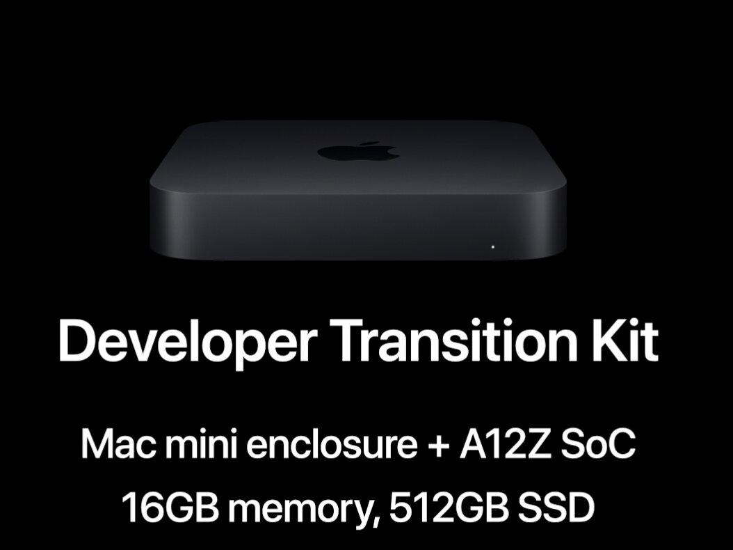 Apple Developer Transition Kit : benchmarks interdits pour son Mac mini avec SoC A12Z Bionic