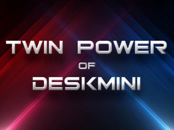 DeskMini X300 et H470 : ASRock met à jour ses barebones mini STX
