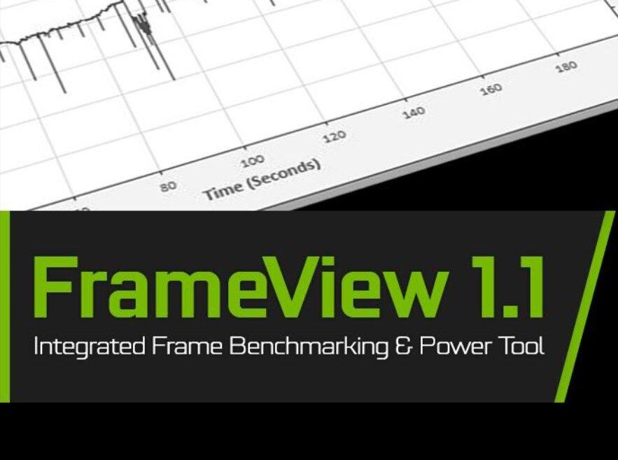 FrameView 1.1 : NVIDIA met à jour son outil de relevé de performances
