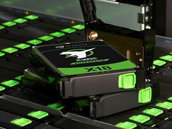 Seagate Exos X18 : un autre disque dur CMR de 18 To, à la fiabilité renforcée