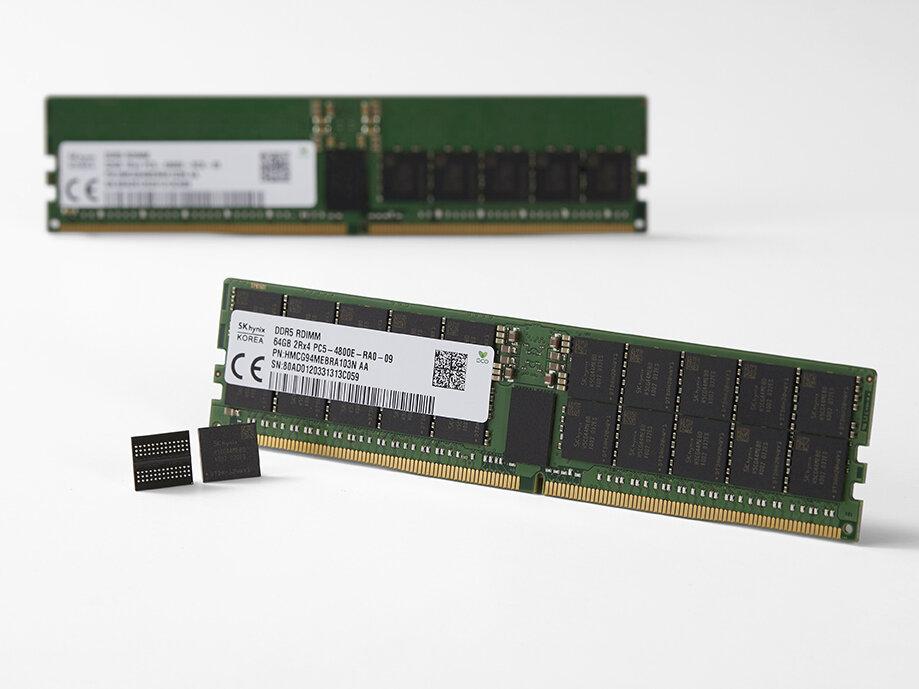 SK hynix lance les premières barrettes de DDR5 « au monde »