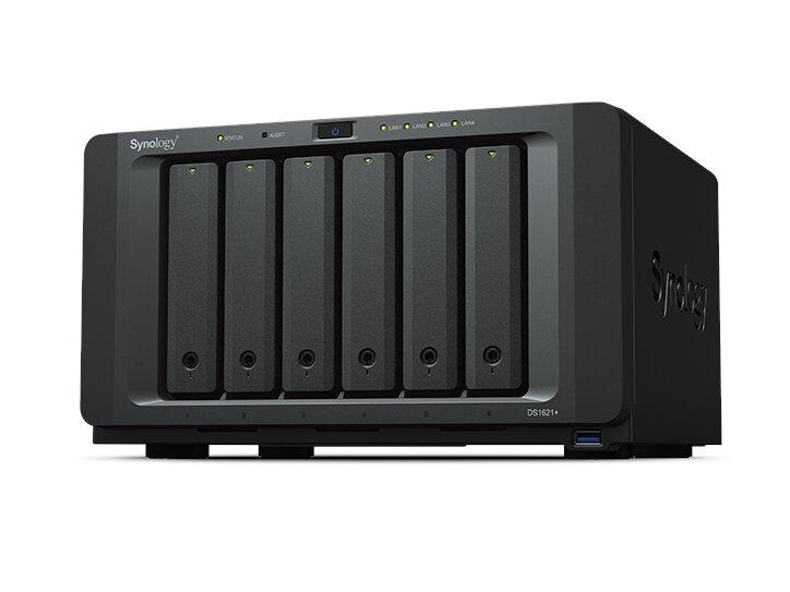 Synology DS1621+ : Ryzen V1500B, 2x M.2, 4x RJ45 et port PCIe 3.0 à 915 euros