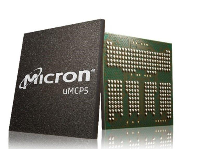 uMCP5 : Micron lance la production de masse de puces intégrant LPDDR5 et NAND (UFS 3.1)