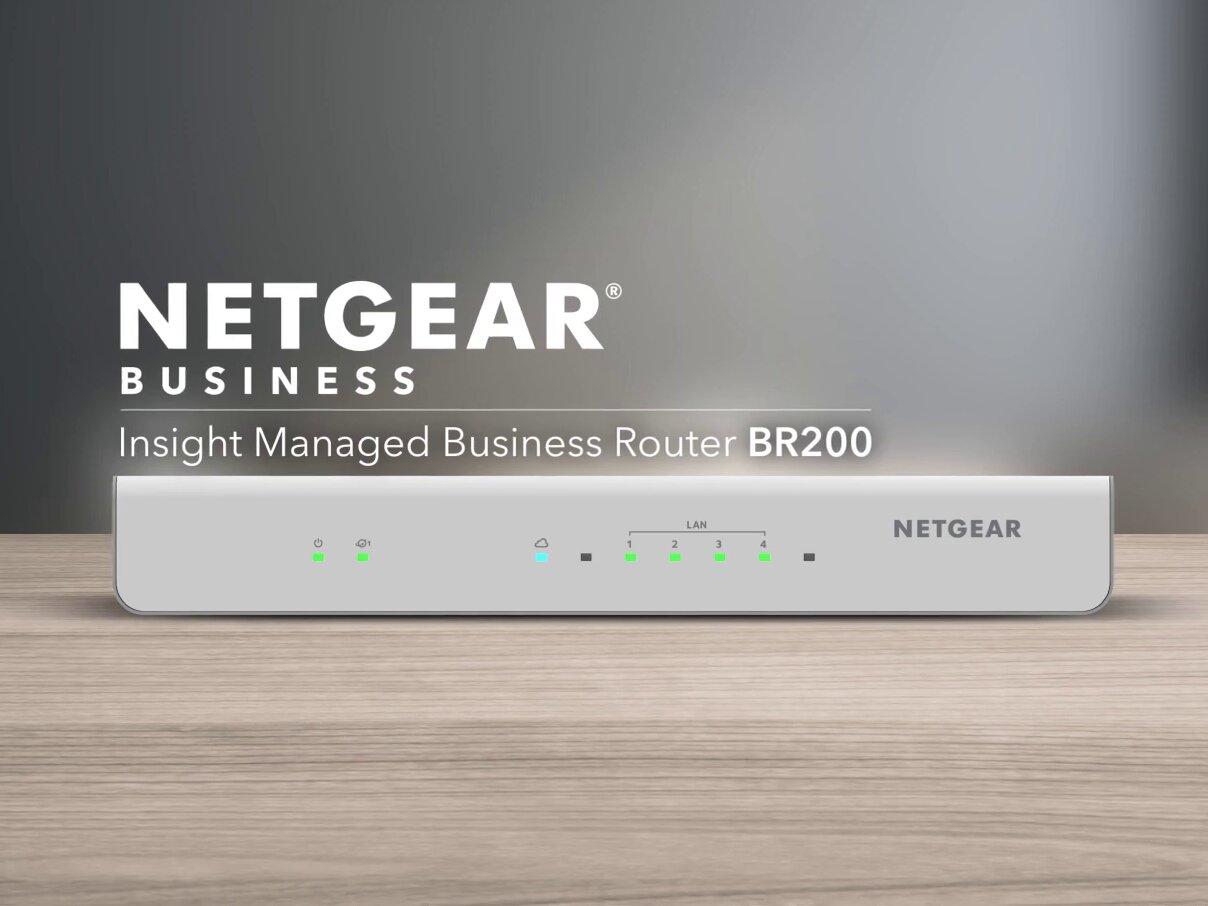 BR200 : Netgear baisse le tarif de son routeur Insight avec VPN site-à-site