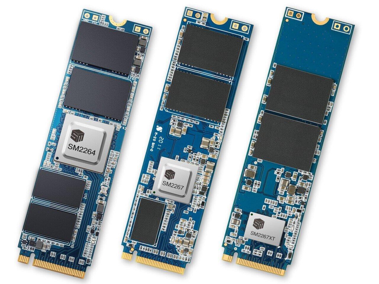 Les SSD PCIe 4.0 à près de 8 Go/s se généralisent, Silicon Motion annonce trois contrôleurs