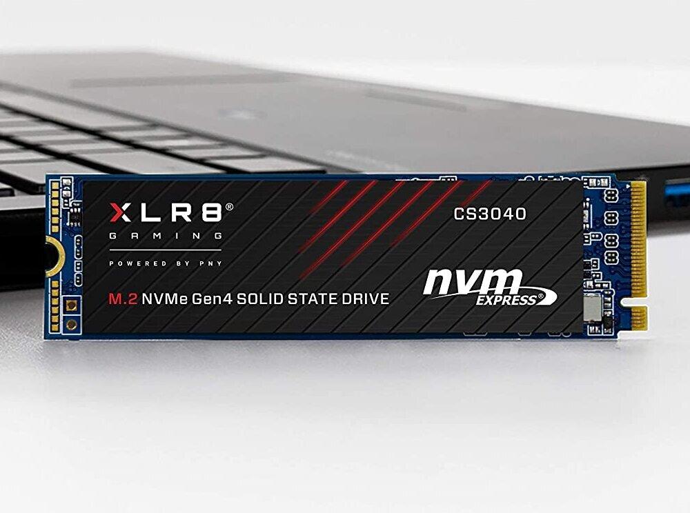 PNY lance ses SSD M.2 XLR8 CS3040 : PCIe 4.0 jusqu'à 5,6 Go/s, dès 0,18 euro par Go