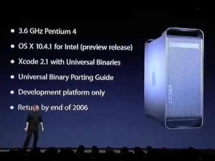 DTK de 2005, le seul Mac en Pentium 4 : retour sur la transition d'Apple vers Intel