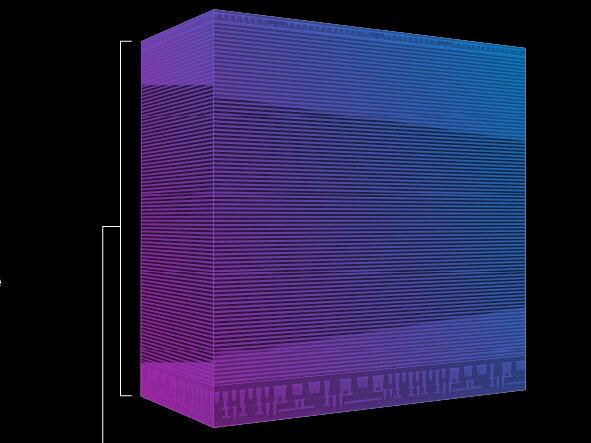 3D NAND : Micron passe à 176 couches