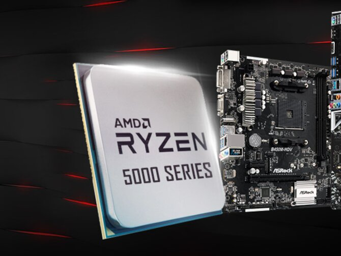 Ryzen 5 5600X (Zen 3) : nos premiers résultats, quid de l'installation sur une carte mère B450 ?