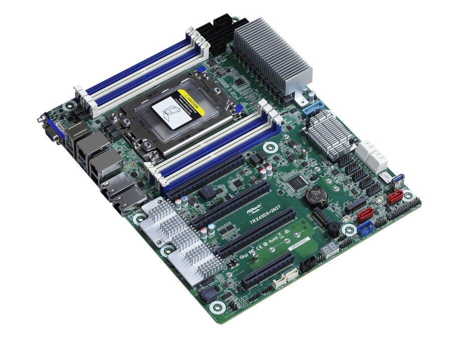 ASRock Rack TRX40D8-2N2T : 2x 10 Gb/s + 2,5 Gb/s et Ryzen Threadripper dans un serveur