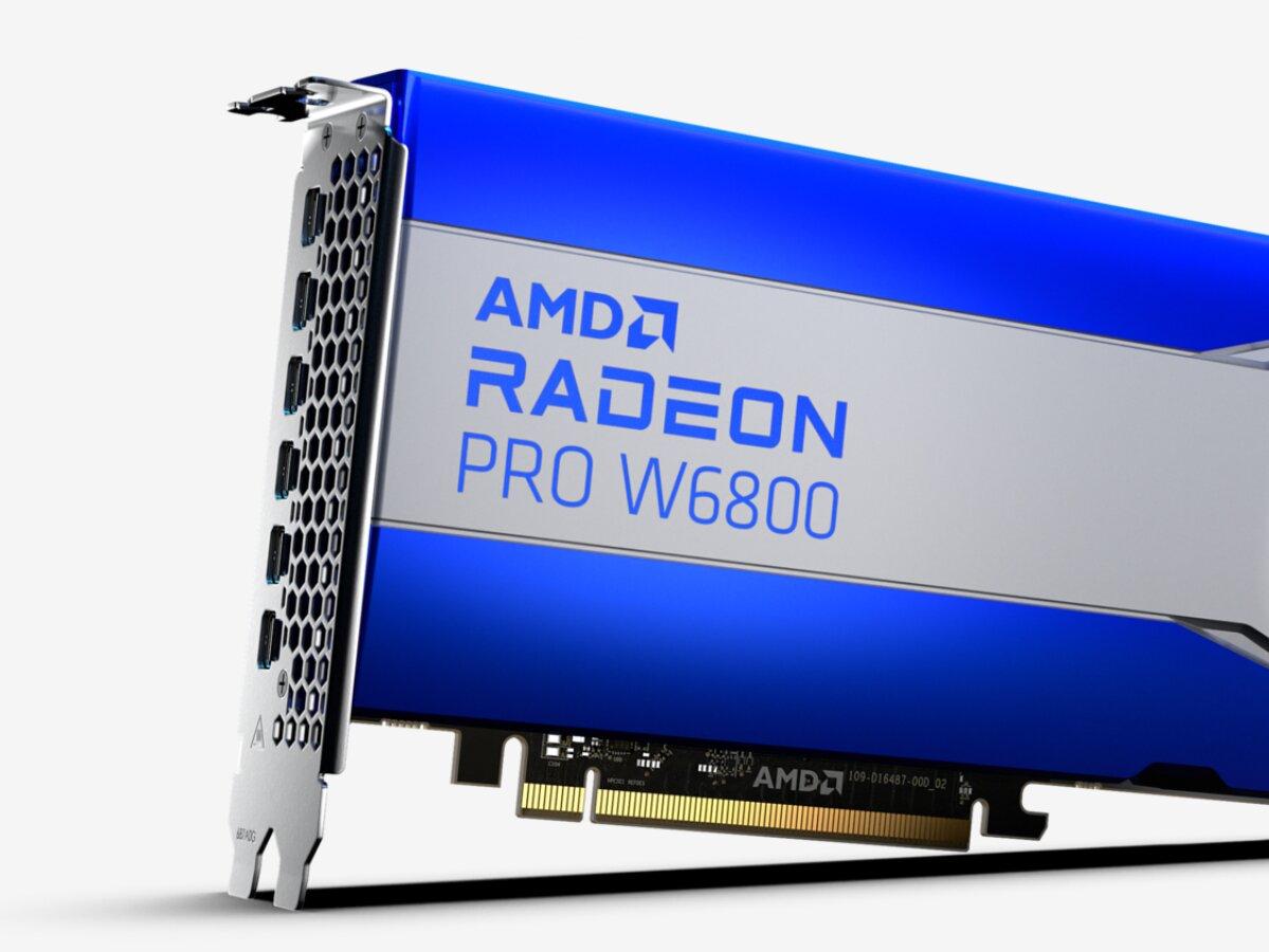 Radeon Pro W6800 : enfin meilleure que la Radeon VII !