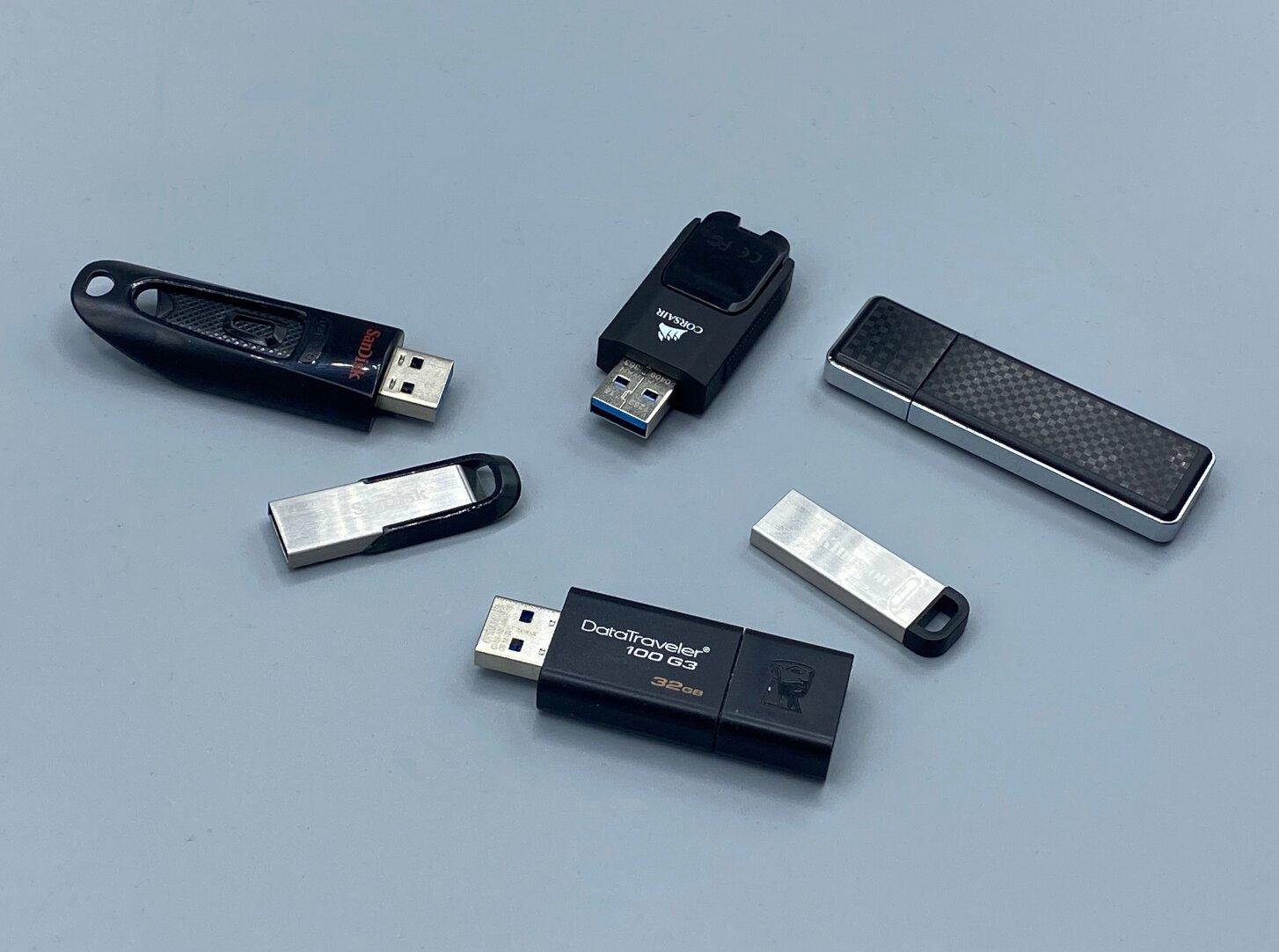 Débits des clés USB : les constructeurs continuent de se moquer du monde