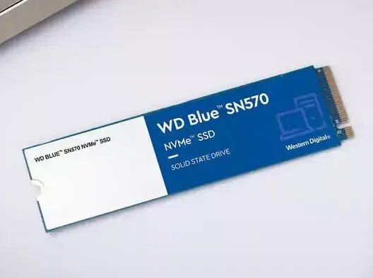 SSD WD Blue SN570 (M.2, PCIe) : 1 To, 1 puce de flash NAND, quelles performances ?