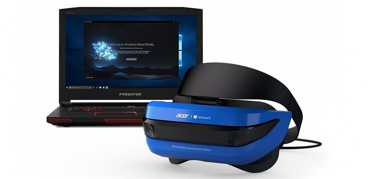 Réalité mixte : notre prise en main du casque d'Acer