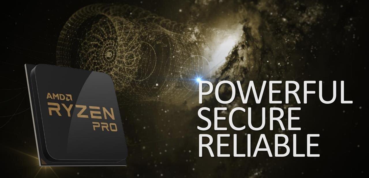 AMD annonce ses Ryzen Pro avec chiffrement mémoire et évoque les Ryzen 3