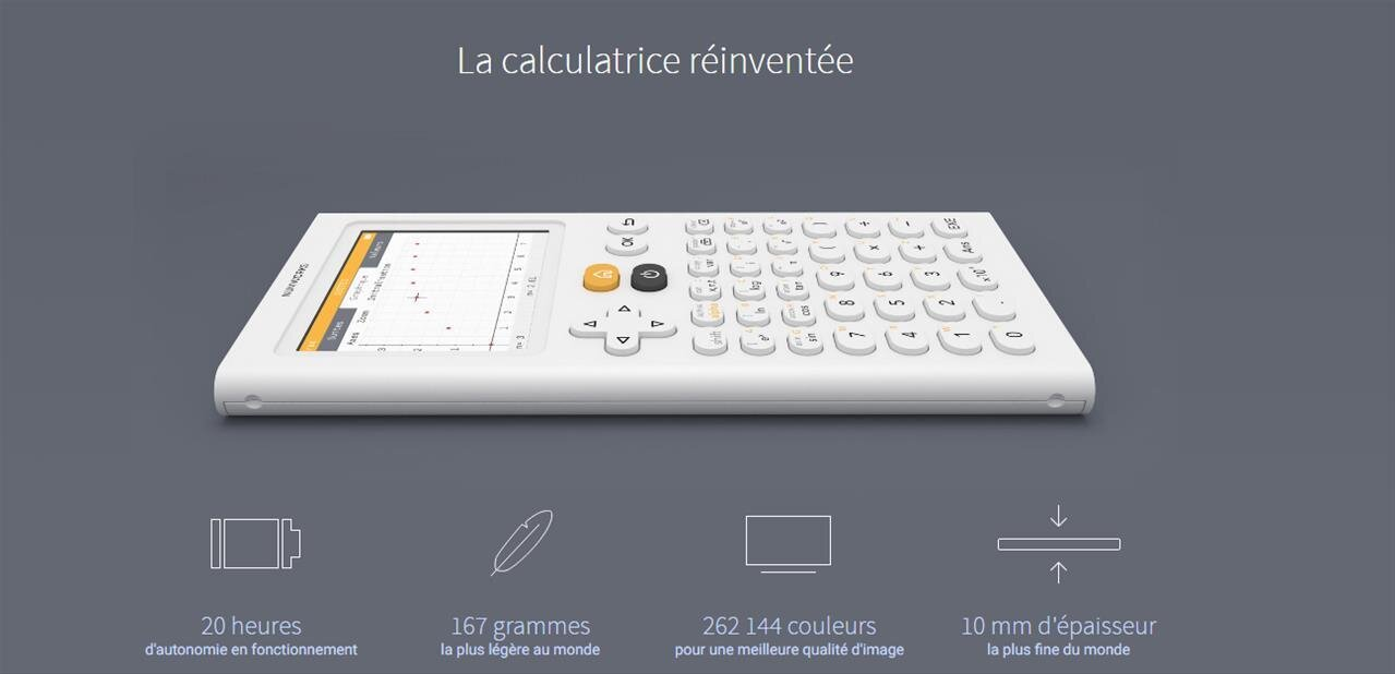 Comment NumWorks veut réinventer la calculatrice
