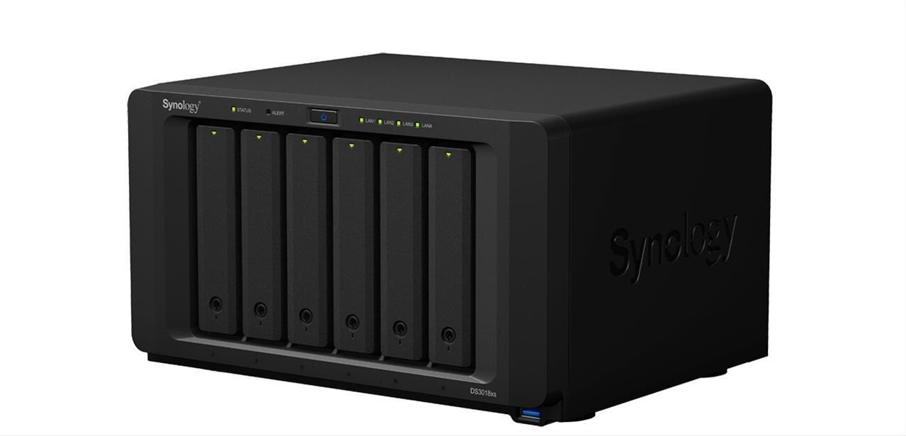 Synology lance cinq NAS dans sa gamme 2018 : du DS218+ au DS3018xs avec 6 baies