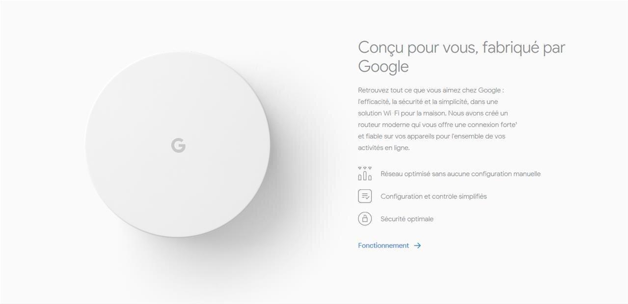 Google Wifi : installation et configuration