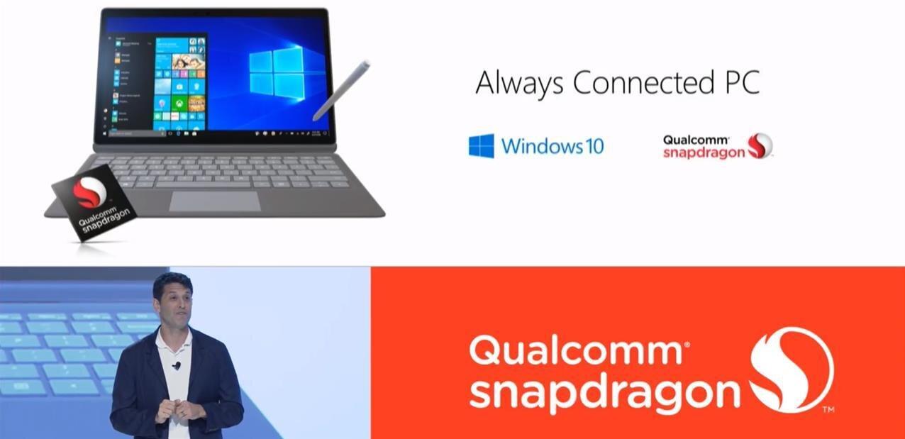 Qualcomm : Snapdragon 845 et partenariats dans le PC avec ASUS, HP, Lenovo et... AMD