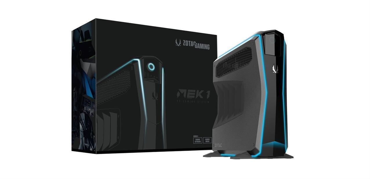 Zotac Gaming MEK1 : un PC pour joueurs déjà monté, compact... mais pas trop