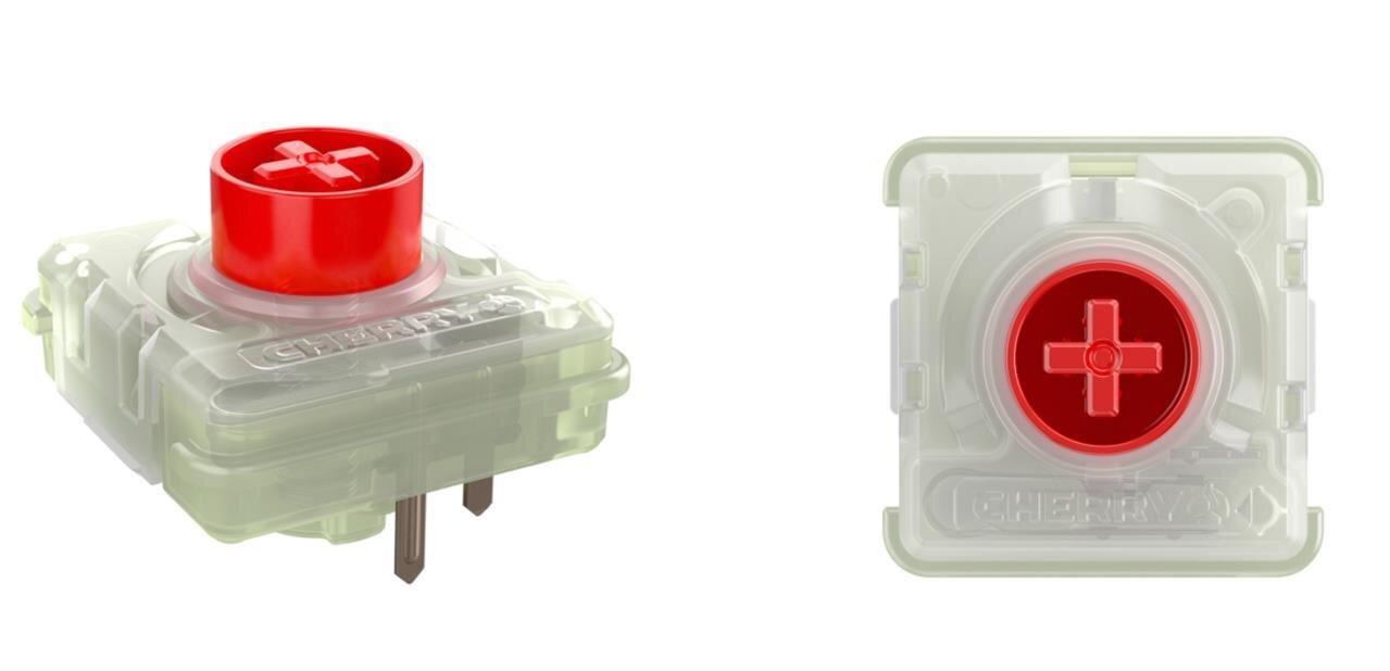 Avec ses switchs Low Profile RGB, Cherry MXveut aller vers des claviers mécaniques plus fins