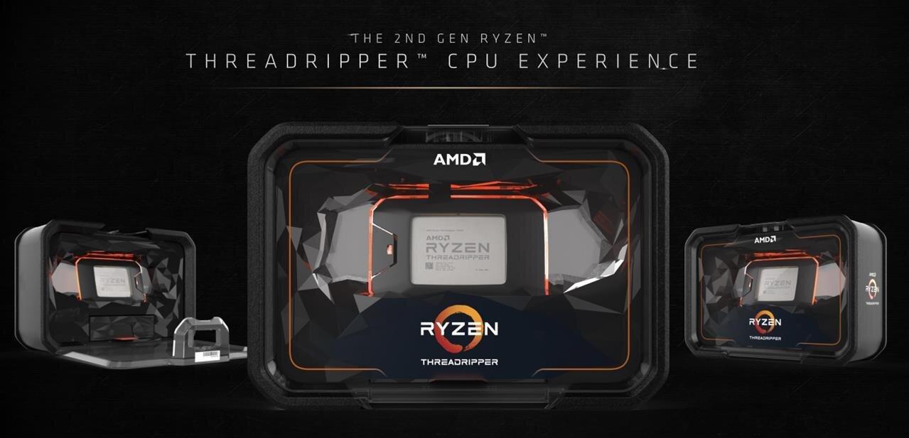 Dynamic Local Mode, October 2018 : AMD revoit les performances de ses Threadripper WX à la hausse