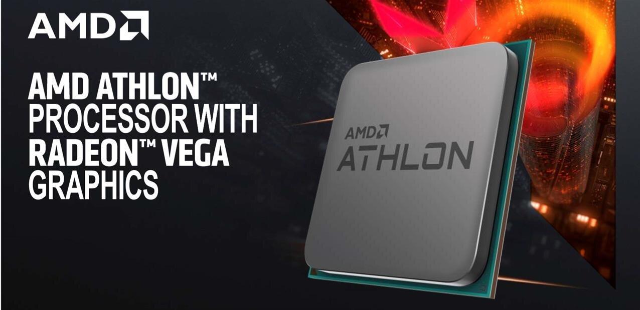 AMD annonce ses Athlon 200GE (Ryzen), à 55 dollars avec partie graphique intégrée