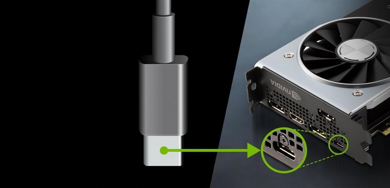Qu'est-ce que l'USB Type-C et pourquoi NVIDIA en met dans ses GeForce RTX ?