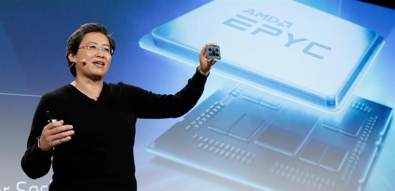 Rome : AMD dévoile ses EPYC7 nm avec un nouveau design, jusqu'à 64 cœurs et 128 lignes PCIe 4.0