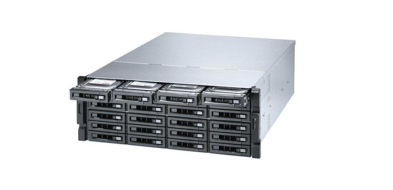 QNAP fait le plein de NAS 10 GbE rackables, avec CPU Intel ou AMD : TVS-x72XU, TS-x83XU et TS-x77XU