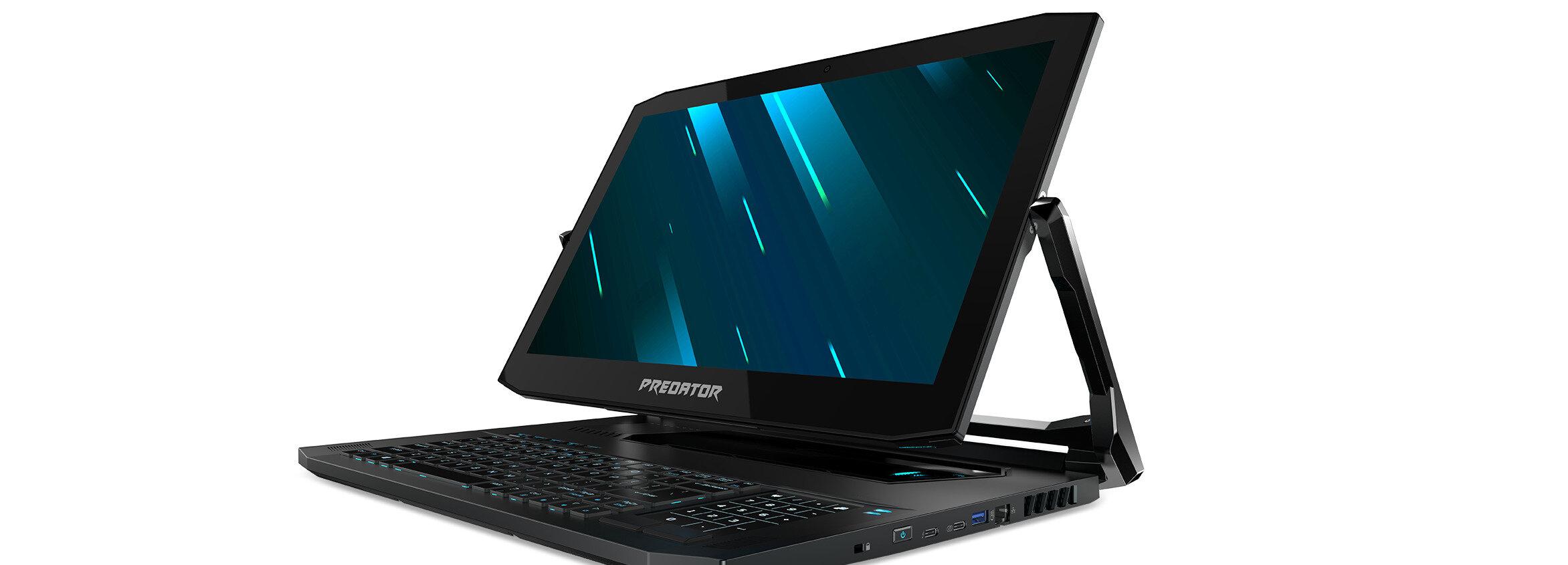 Acer Predator Triton 900 et ASUS ROG Mothership : deux portables hybrides avec GeForce RTX 2080