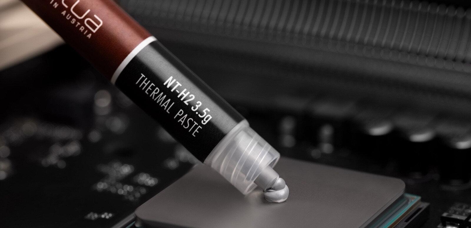 Noctua annonce sa nouvelle pâte thermique NT-H2, à 25 euros les dix grammes