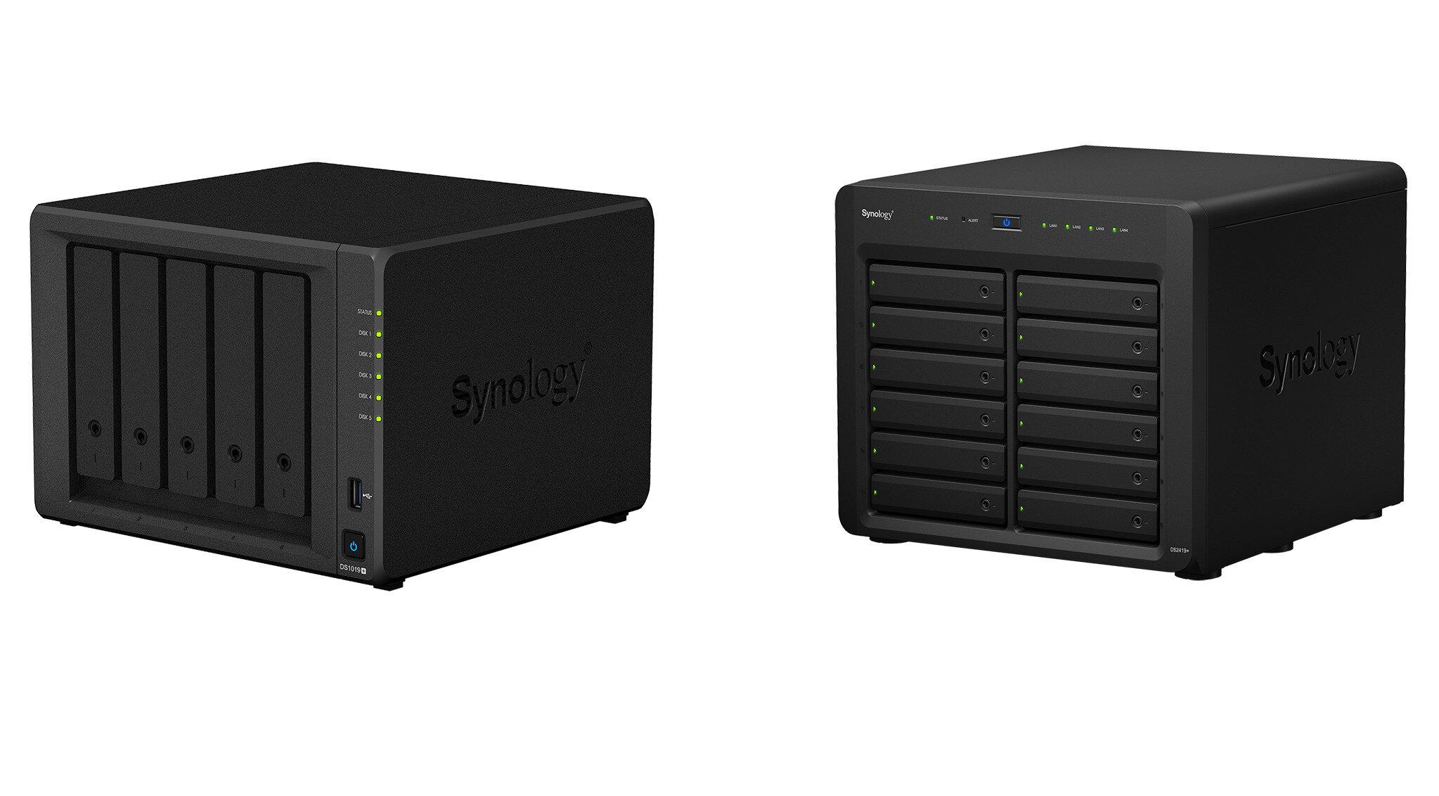 Synology lance les DS1019+ et DS2419+ : surtout une hausse de mémoire